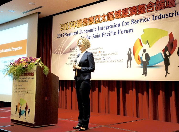 Vivianne Arnold 2015 Regional Economic Integration for Services Industries in the Asia Pacific